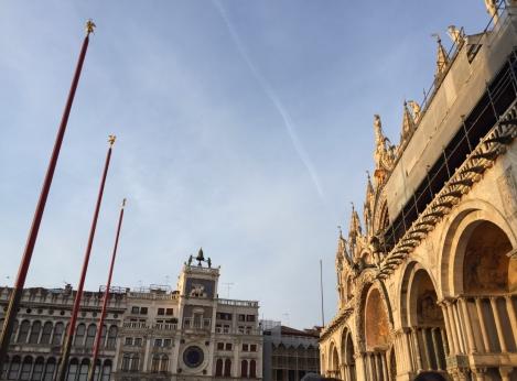 Venezia, particolare di Piazza San Marco