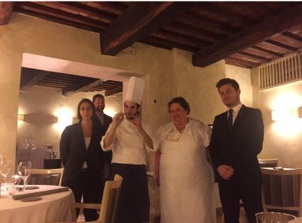 Chef Valeria Piccini del ristorante Caino a Montemerano